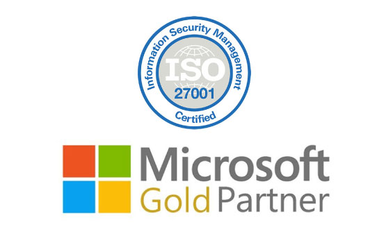 Microsoft Gold Partner & ISO Certified